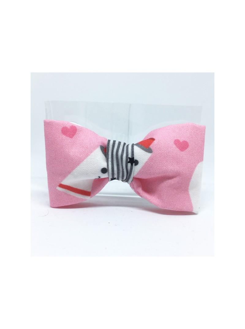 Broche Noeud-Papillon petit modèle Motifs dents
