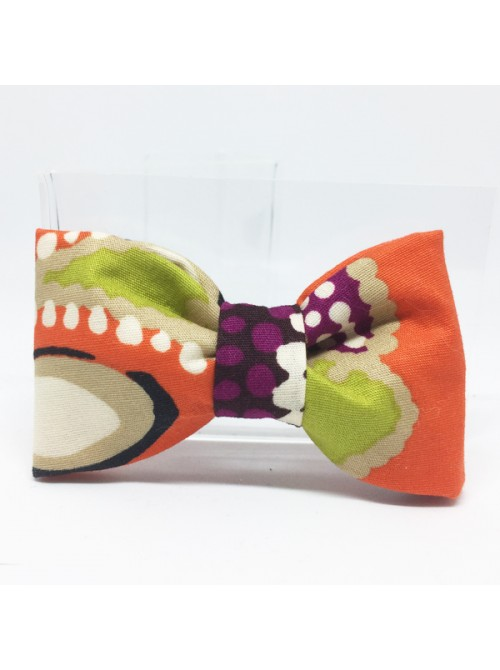 Broche Noeud-Papillon petit modèle Multicolore