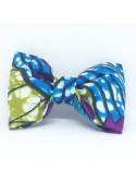 Broche Noeud-Papillon petit modèle Wax Multicolore