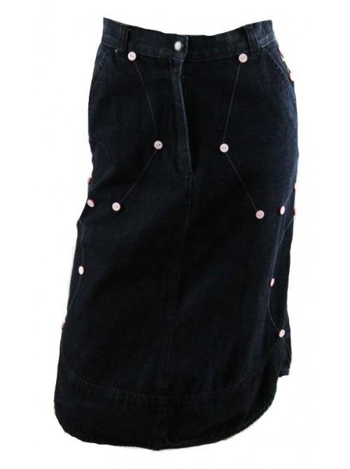 JUPE IMPERTINENTE en jeans