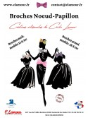 Les Broches noeuds papillon