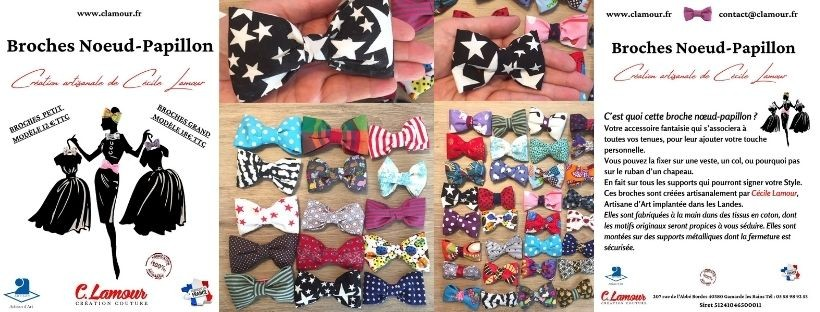 Broches Noeud Papillon